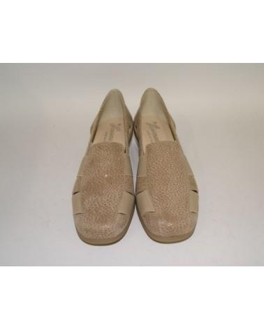 Sandalo Susimoda con plantare estraibile in nabuk blu